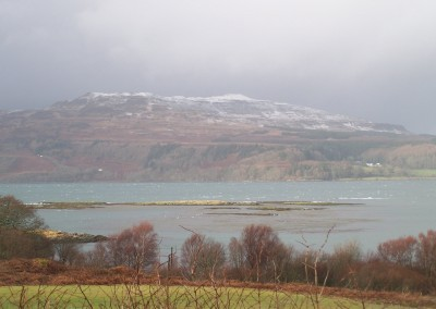 Wintry Loch Scridain