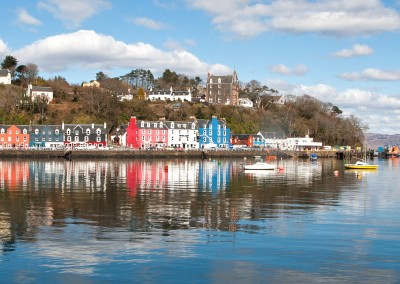 Tobermory on calm day